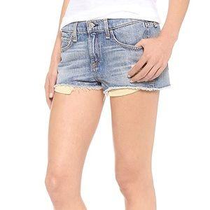 Rag & Bone Cut Off Denim Shorts 25